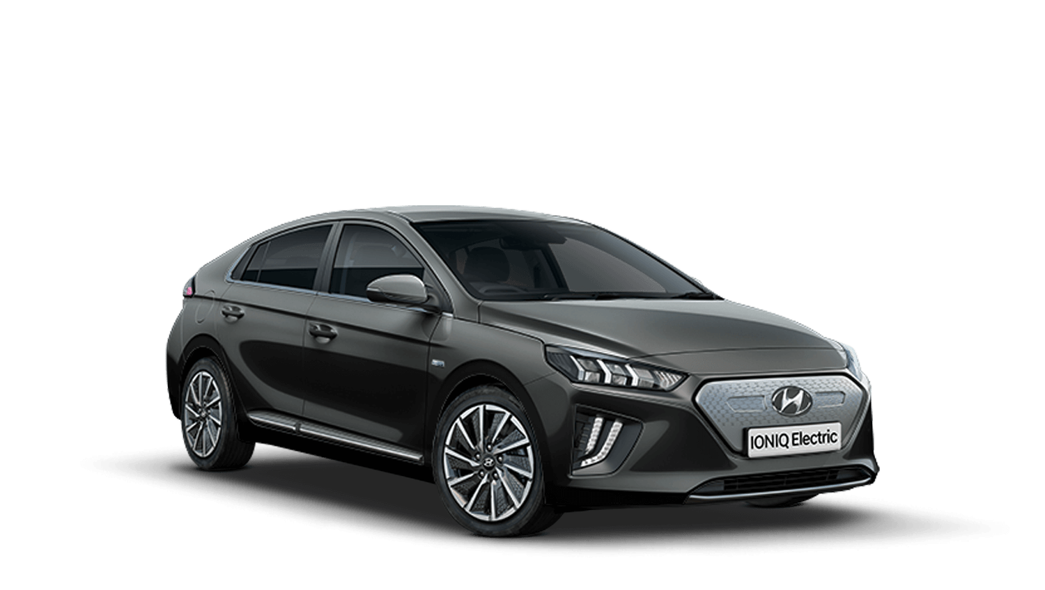 Cyber Grey Hyundai IONIQ Electric