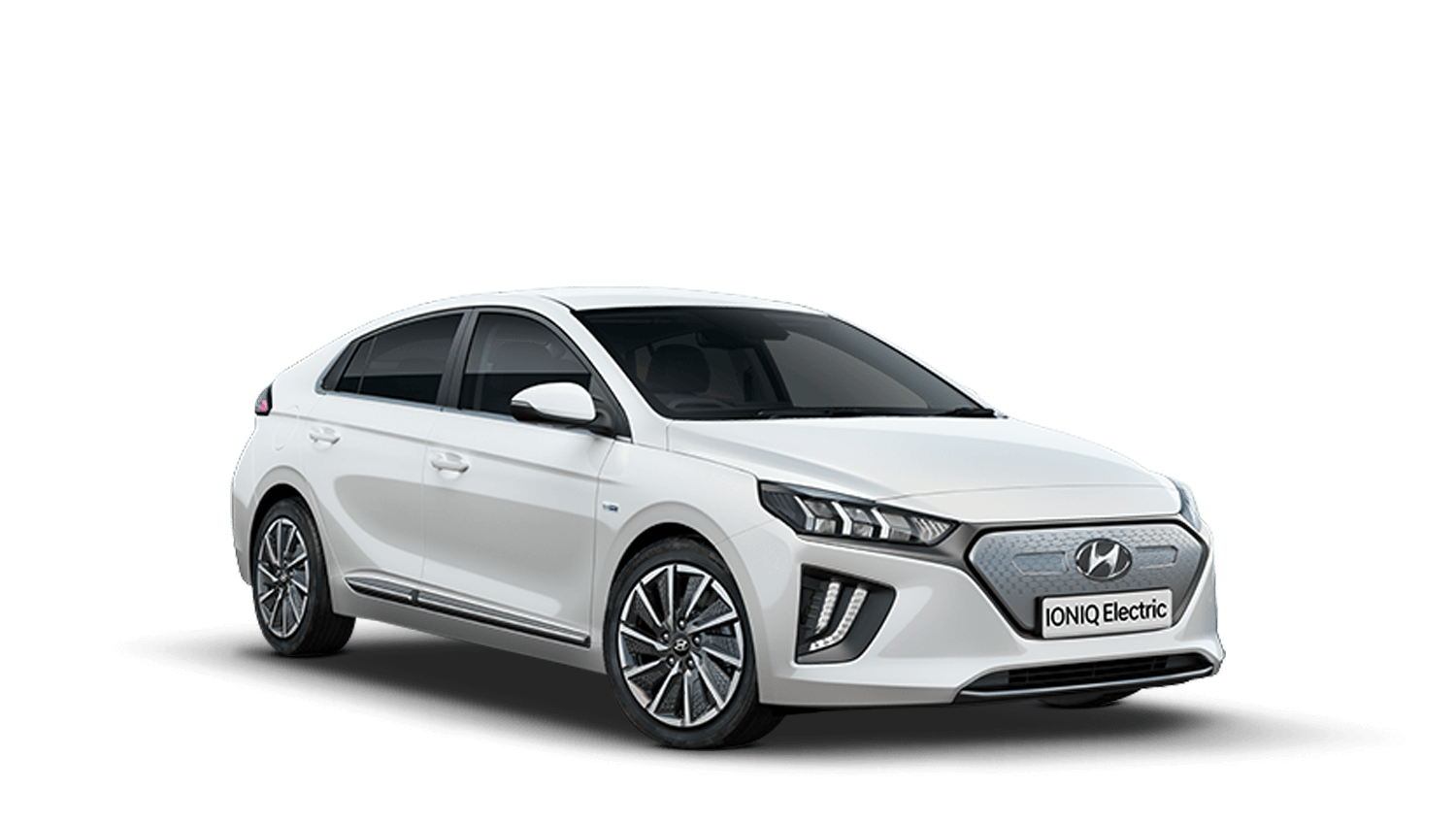 Polar White Hyundai IONIQ Electric
