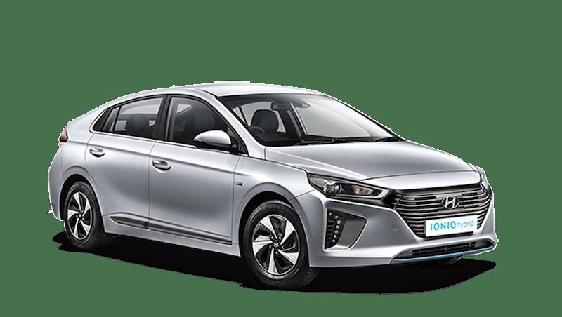 Platinum Silver Hyundai IONIQ Hybrid