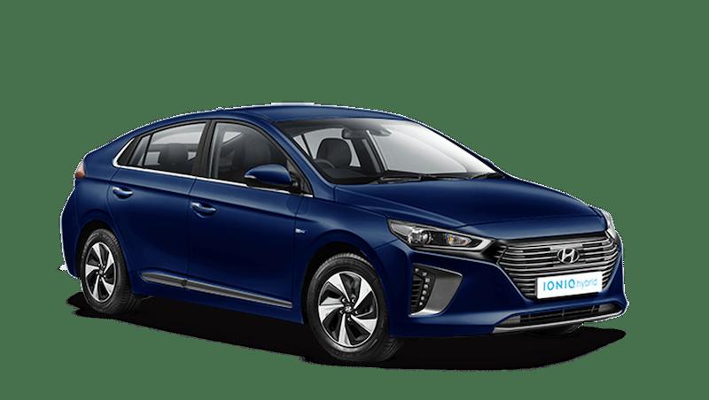 Intense Blue Hyundai IONIQ Hybrid