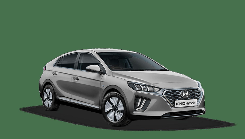 Cyber Grey Hyundai IONIQ Hybrid