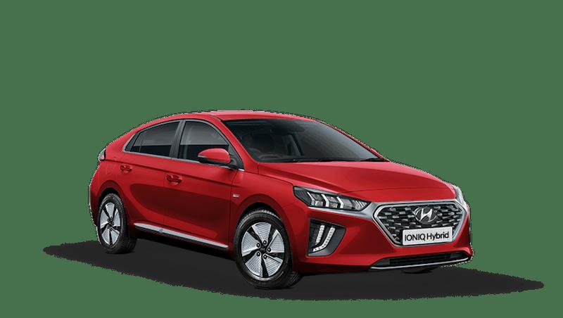 Fiery Red Hyundai IONIQ Hybrid