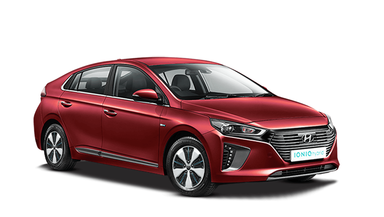 Fiery Red Hyundai IONIQ Plug In