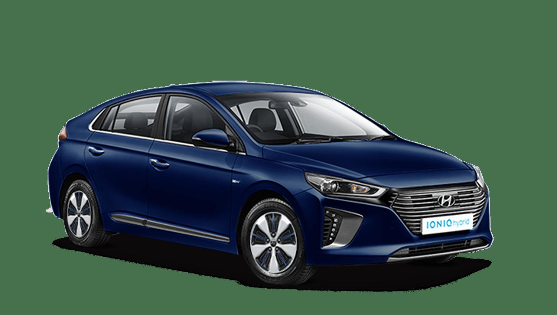 Intense Blue Hyundai IONIQ Plug In