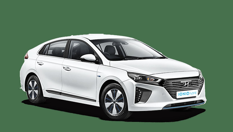 Polar White Hyundai IONIQ Plug In