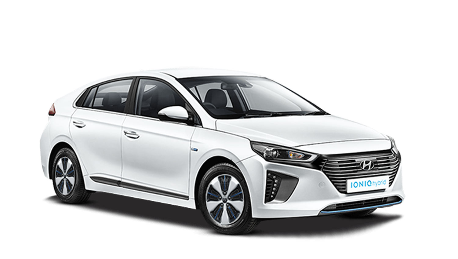 Polar White Hyundai IONIQ Plug In