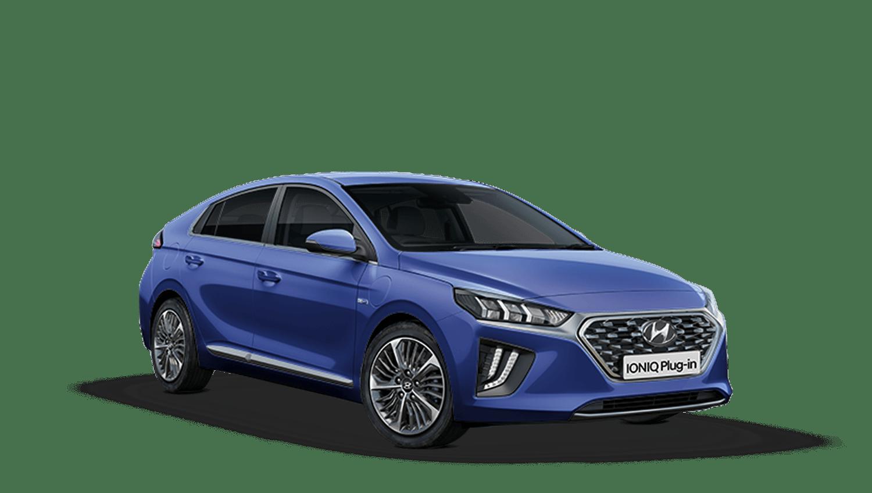 Intense Blue Hyundai Ioniq Plug In Hybrid
