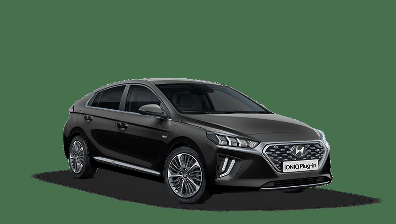 Phantom Black Hyundai Ioniq Plug In Hybrid