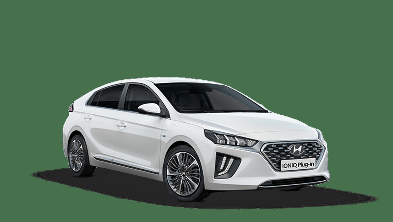Polar White Hyundai Ioniq Plug In Hybrid