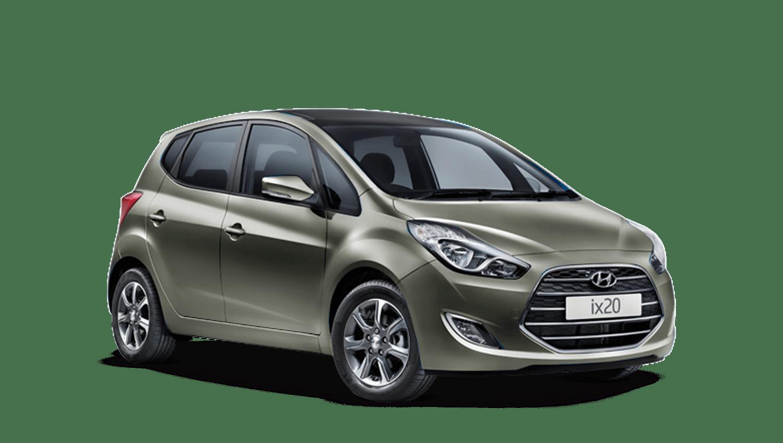 Olivine Grey Hyundai Ix20