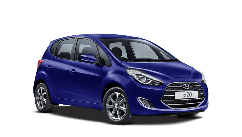 Stellar Blue Hyundai Ix20