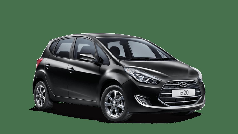 Phantom Black Hyundai Ix20