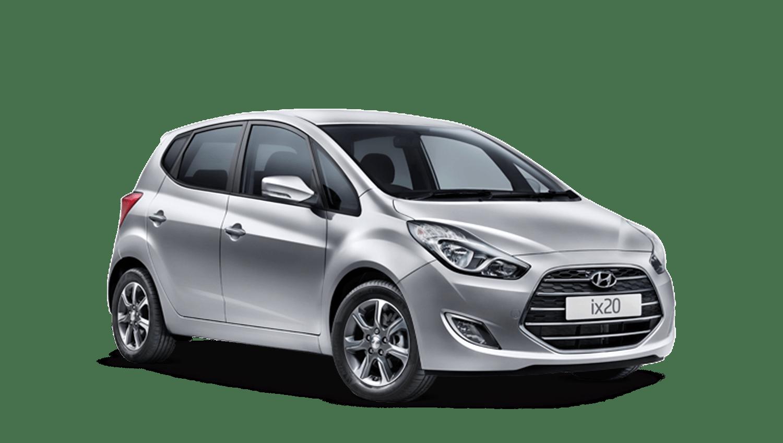 Platinum Silver Hyundai Ix20