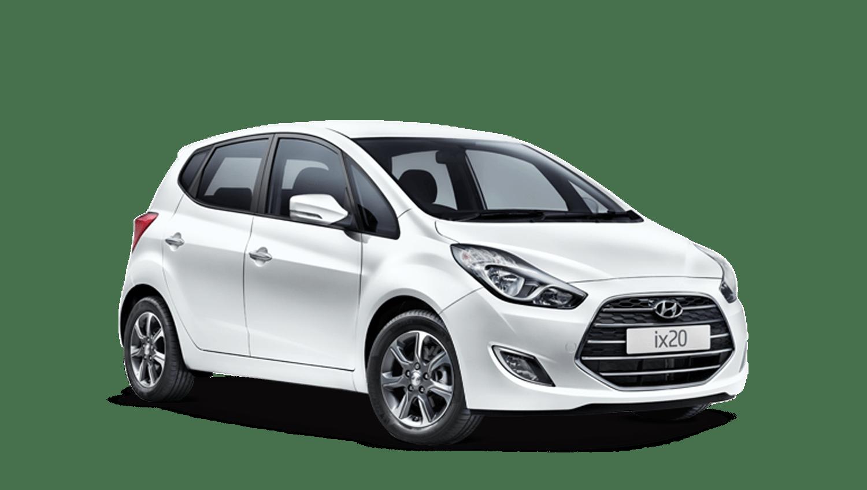Polar White Hyundai Ix20
