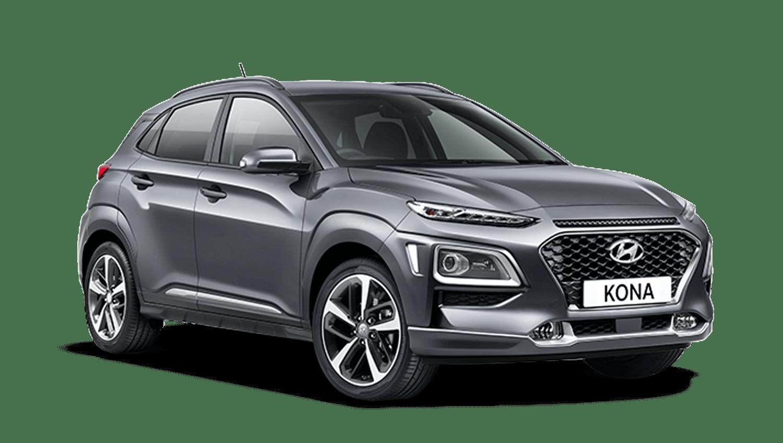 Galactic Grey Hyundai Kona