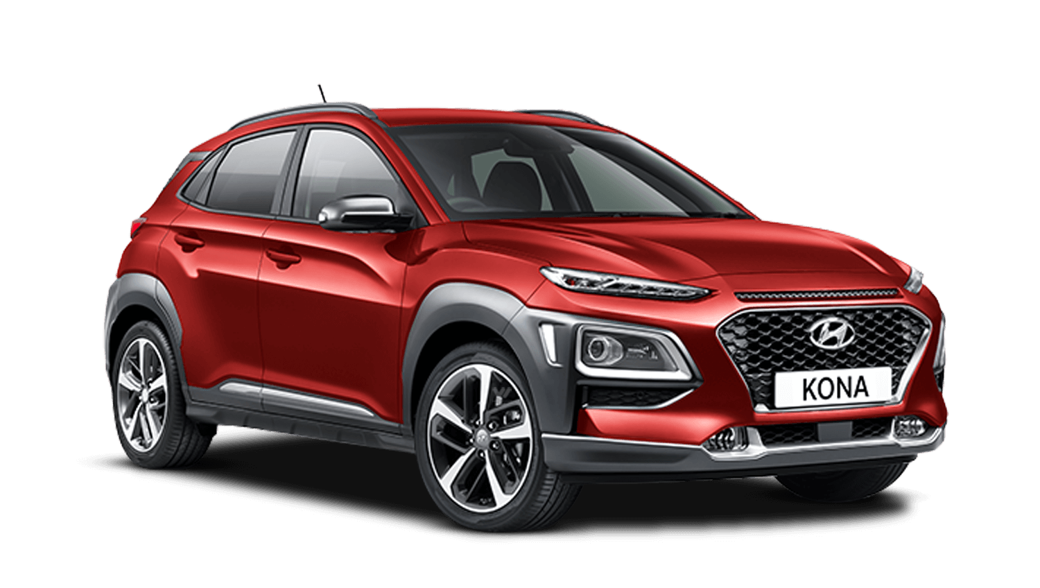 Pulse Red Hyundai KONA