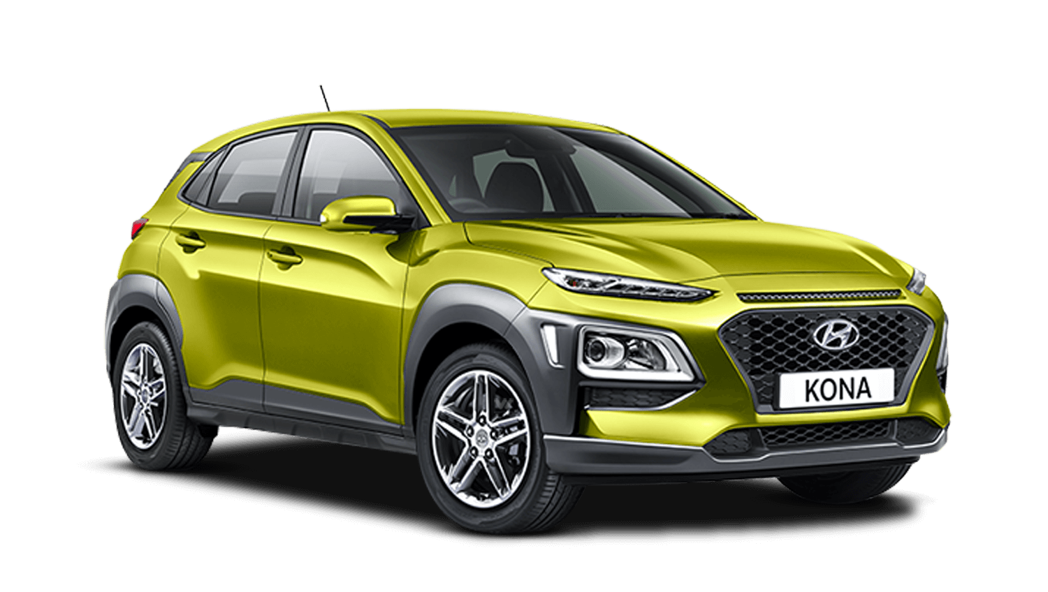 Acid Yellow Hyundai Kona