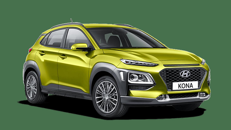 Acid Yellow Hyundai Kona
