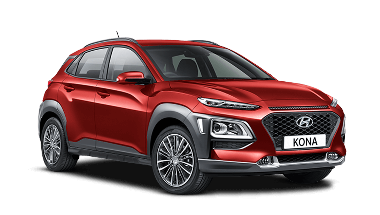 Pulse Red Hyundai KONA