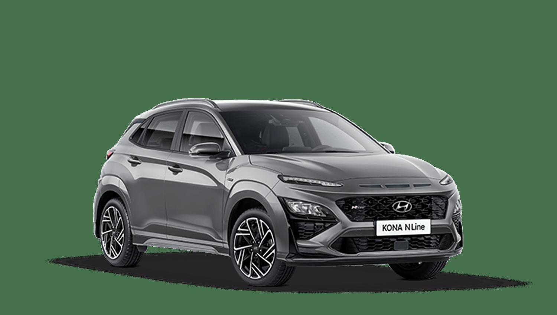 Galactic Grey New Hyundai KONA