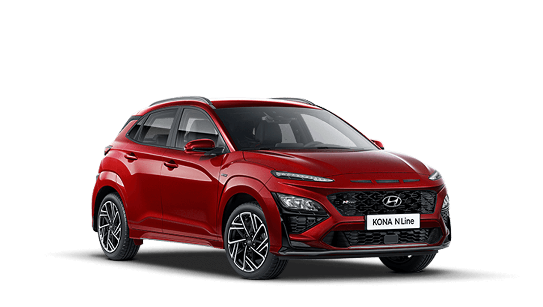 Pulse Red New Hyundai KONA