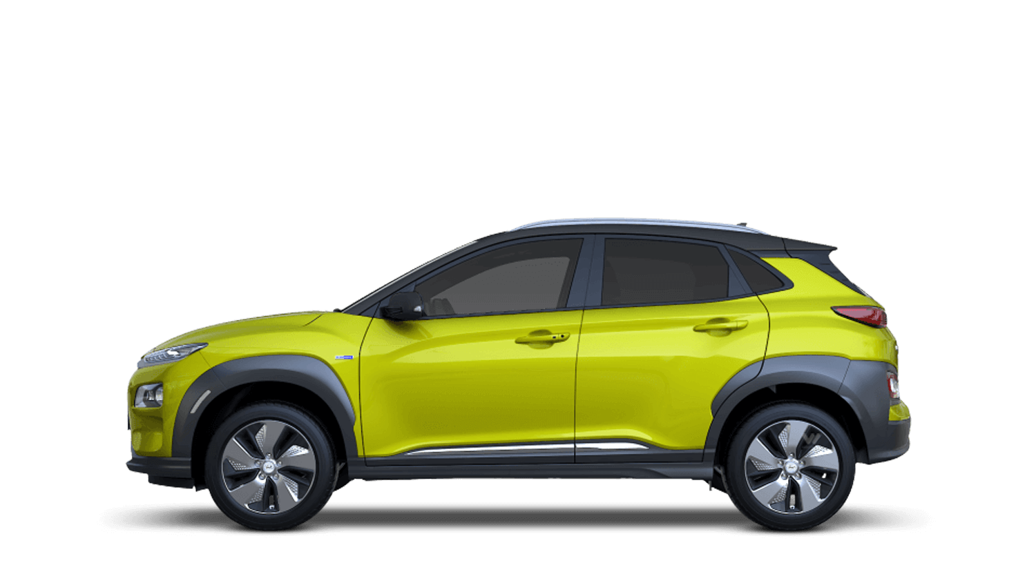 Acid Yellow Hyundai KONA Electric
