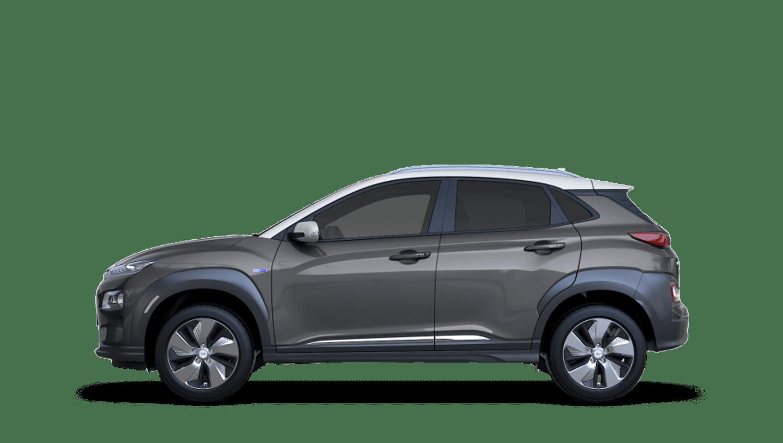 Galactic Grey Hyundai KONA Electric
