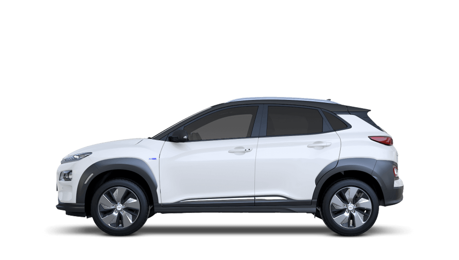 Chalk White Hyundai KONA Electric