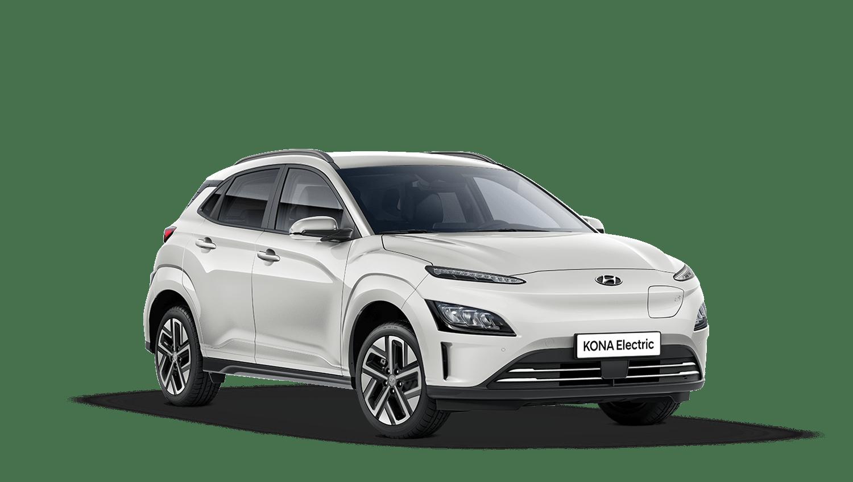 Atlas White New Hyundai KONA Electric