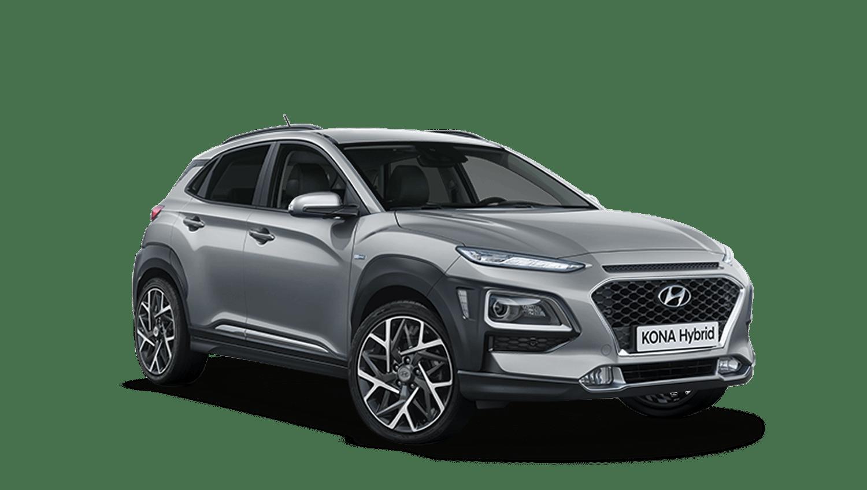 Galactic Gray Hyundai KONA Hybrid
