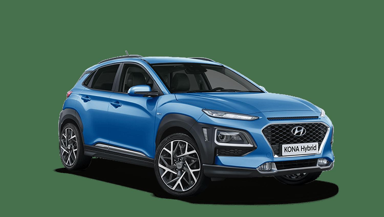 Blue Lagoon Hyundai KONA Hybrid