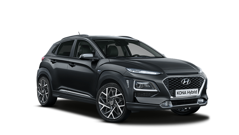 Phantom Black Pearl Hyundai KONA Hybrid
