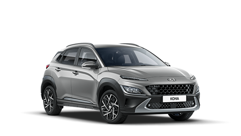 Cyber Grey New Hyundai KONA Hybrid