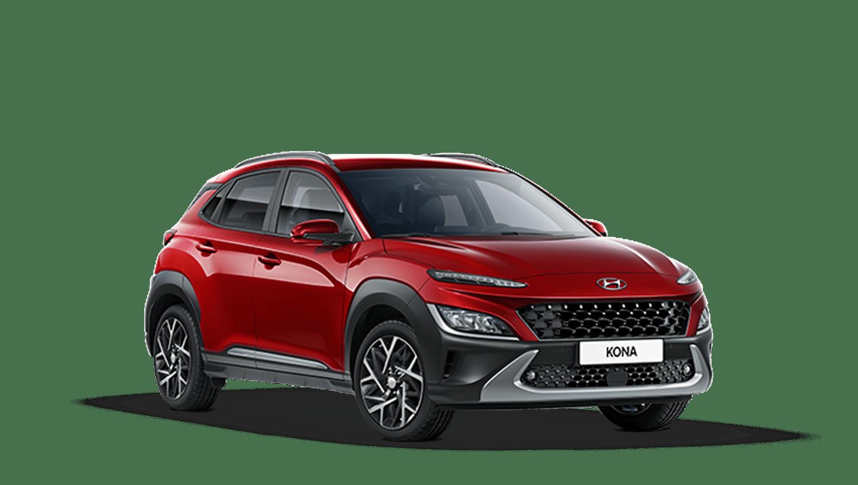 Pulse Red New Hyundai KONA Hybrid