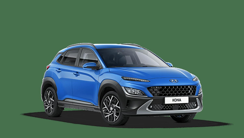 Surfy Blue New Hyundai KONA Hybrid