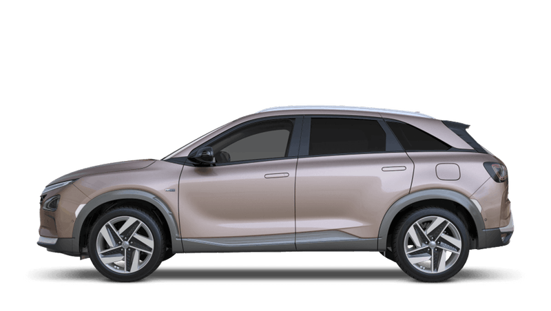 Copper Metallic All-new Hyundai NEXO