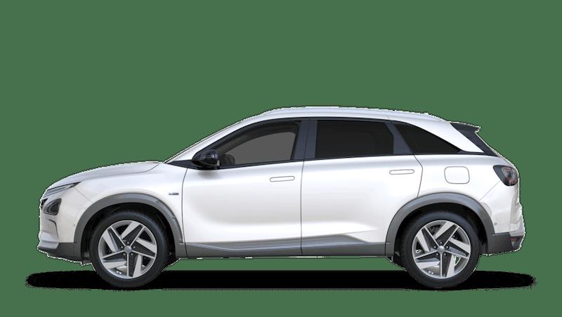 White Cream All-new Hyundai NEXO