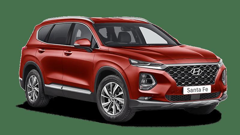 Horizon Red Hyundai Santa Fe