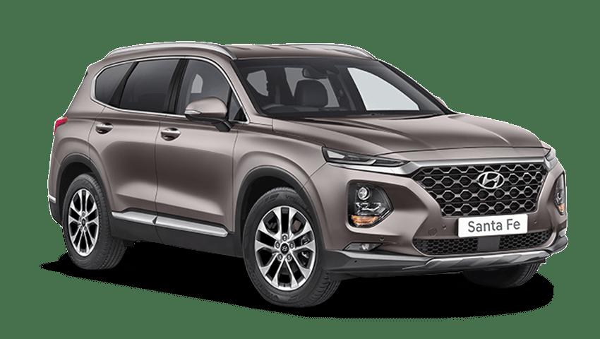 Earthy Bronze Hyundai Santa Fe