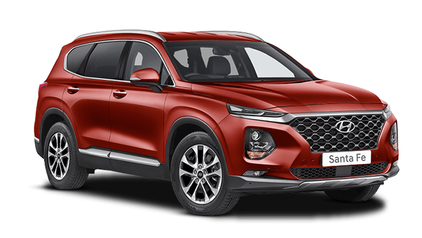 Horizon Red Hyundai Santa Fe