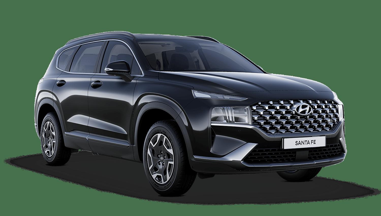 Phantom Black Hyundai Santa Fe Hybrid