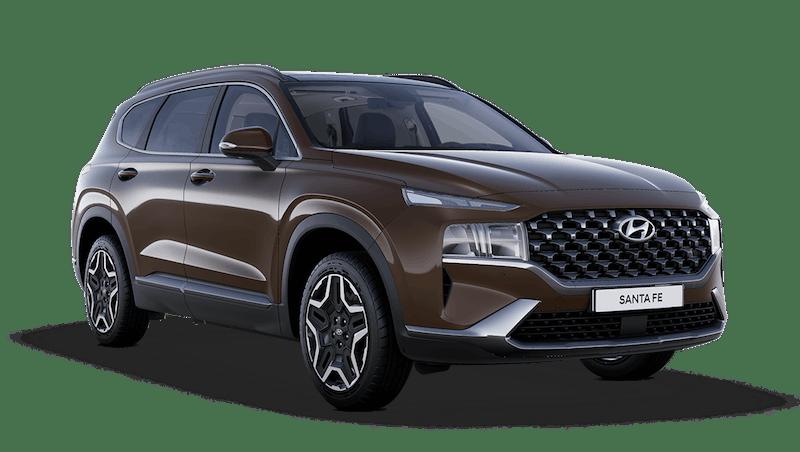 Taiga Brown Hyundai Santa Fe Hybrid