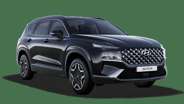 Phantom Black Hyundai Santa Fe Plug In