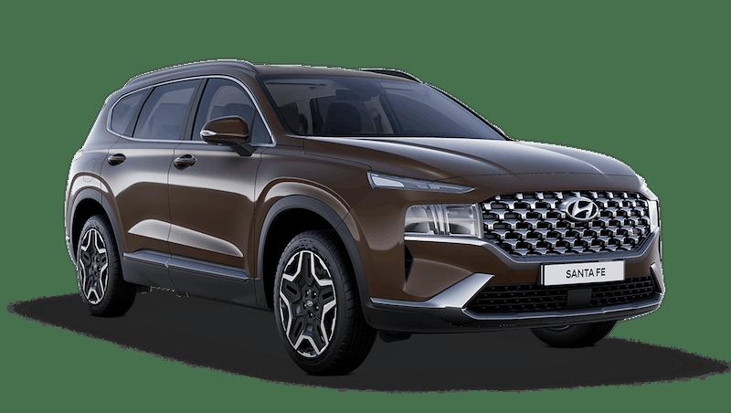 Taiga Brown Hyundai Santa Fe Plug In