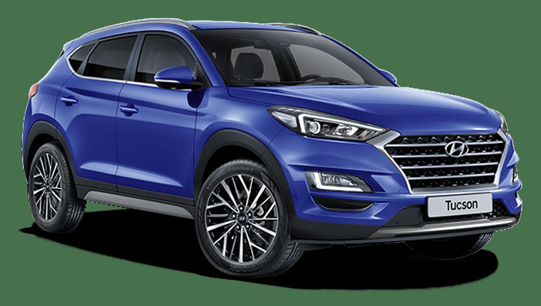 Champion Blue New Hyundai Tucson
