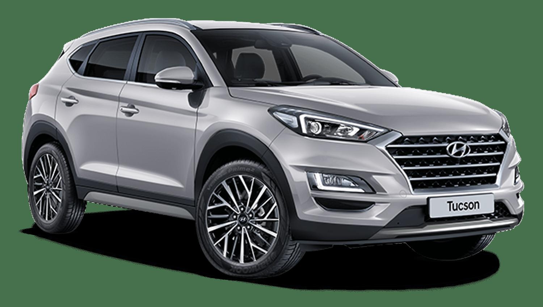 Platinum Silver New Hyundai Tucson