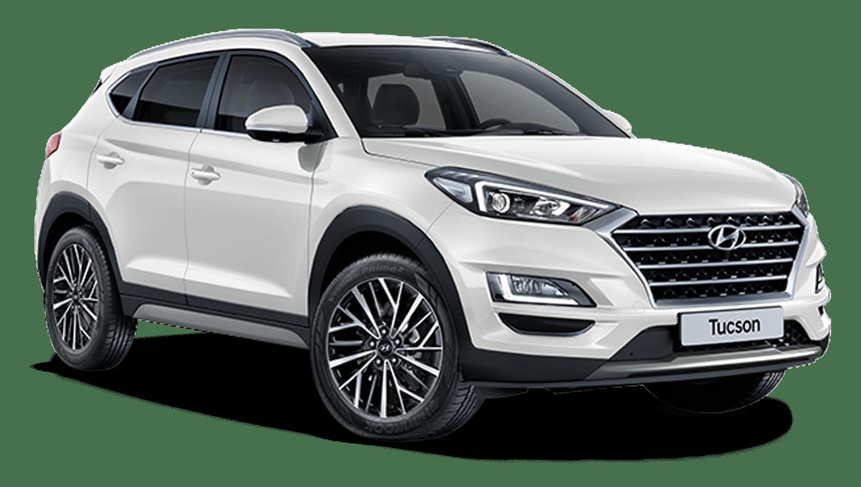 Polar White New Hyundai Tucson