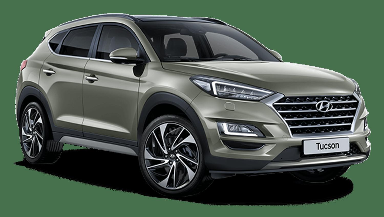 Olivine Grey Hyundai Tucson