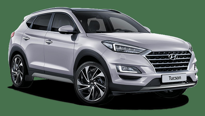 Platinum Silver Hyundai Tucson