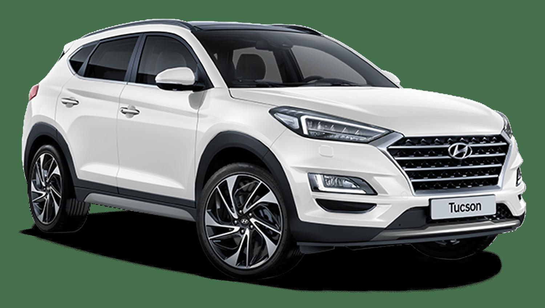 Polar White Hyundai Tucson